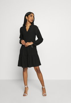 Vila - VIKAWA DRESS - Trikoomekko - black