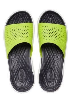 Crocs - Pantolette flach - grün