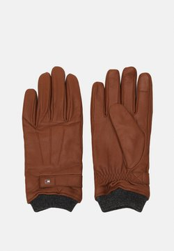 Tommy Hilfiger - ELEVATED FLAG GLOVES - Fingervantar - cognac