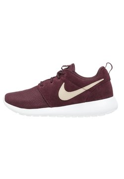 Nike Sportswear - ROSHE ONE  - Sneaker low - deep burgundy/sand dune/summit white