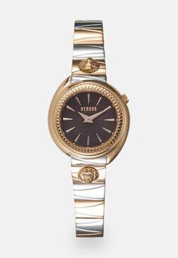 Versus Versace - TORTONA - Watch - rosegold-coloured/burgundy