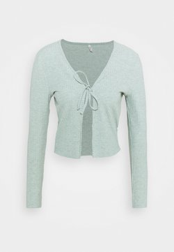 ONLY Tall - ONLNELLA CARDIGAN  - Vest - chinois green