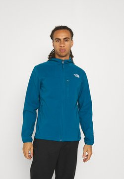 The North Face - NIMBLE HOODIE - Softshelljacke - moroccan blue