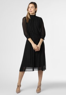 BOSS - Freizeitkleid - schwarz silber