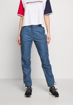Tommy Hilfiger - RUNNING PANT LAB  - Ulkohousut - blue