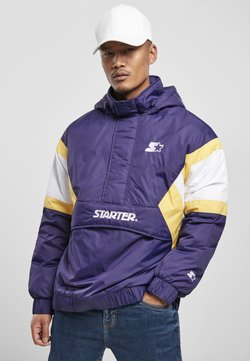 Starter - Winterjacke - starter purple/wht/buff yellow