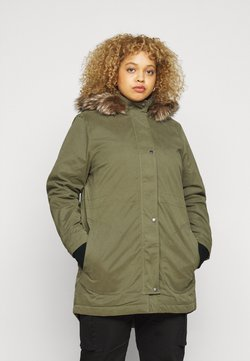 CAPSULE by Simply Be - Wintermantel - khaki