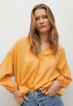 Mango - Bluse - moutarde