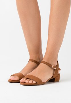 Dorothy Perkins Wide Fit - WIDE FIT SPRIGHTLY  - Sandalen - tan
