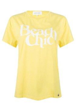 Jacky Luxury - BEACH CHIC - T-shirt print - yellow
