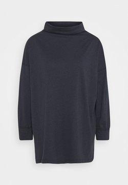 American Eagle - FUNNEL NECK TUNIC - Långärmad tröja - washed black