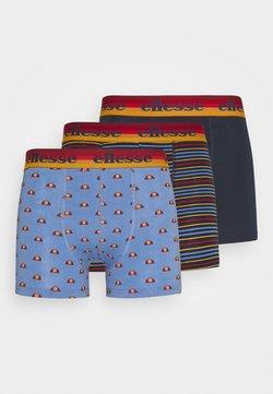 Ellesse - MENS PRINTED 3 PACK - Panty - blue/navy