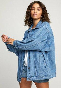 RVCA - LOUNGER - Veste en jean - washed out blue