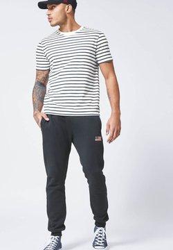 America Today - ELBA - T-Shirt basic - white/navy