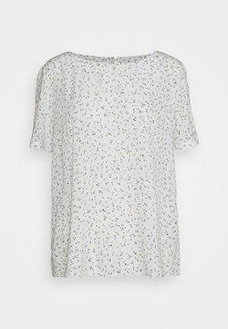 edc by Esprit - BLOUSE - T-Shirt print - off-white