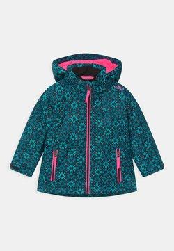 CMP - GIRL SNAPS HOOD - Ski jacket - danubio/antracite/turchese