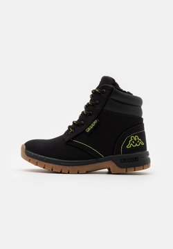 Kappa - CAMMY UNISEX - Outdoorschoenen - black/lime