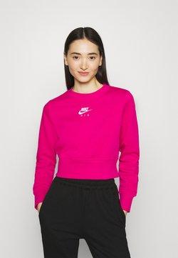 Nike Sportswear - AIR CREW  - Felpa - fireberry/white