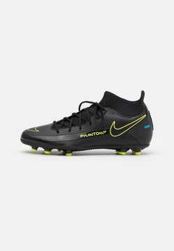 Nike Performance - PHANTOM GT CLUB DF FG/MG - Moulded stud football boots - black/cyber/light photo blue