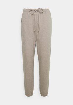 Cream - TALLI PANTS - Jogginghose - silver mink melange