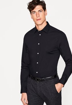 Esprit Collection - SOLID - Businesshemd - black