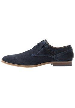 Bugatti - LUCIUS - Business-Schnürer - dark blue