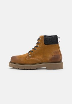 Tommy Jeans - LACE UP MENS BOOT - Schnürstiefelette - texas plains