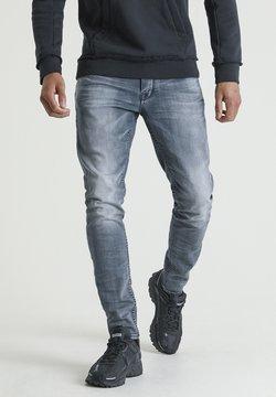 CHASIN' - EGO BOGER - Slim fit jeans - blue denim