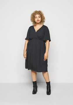 Zizzi - MCLARA DRESS - Freizeitkleid - black