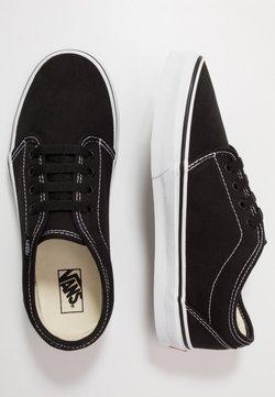 Vans - VULCANIZED - Sneakersy niskie - black/true white