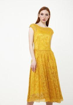 Madam-T - LOTTA - Cocktailkleid/festliches Kleid - gelb