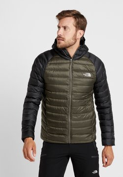 The North Face - TREVAIL HOODIE - Untuvatakki - new taupe green/black