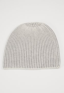Repeat - BEANIE - Beanie - cream/grey