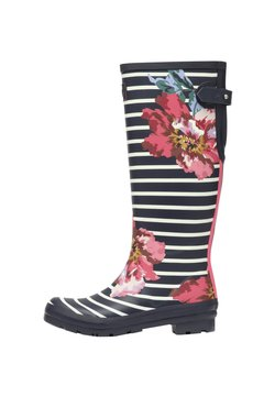 Tom Joule - WELLY PRINT - Kumisaappaat - navy floral