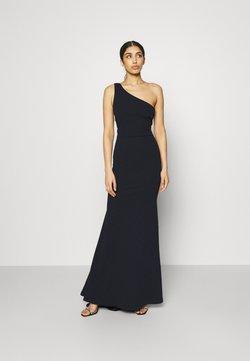 Missguided - ONE SHOULDER TWIST BRIDESMAID DRESS - Robe de cocktail - navy