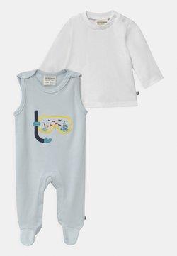 Jacky Baby - OCEAN CHILD - Pyjama - hellblau/weiss