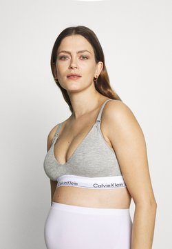 Calvin Klein Underwear - MODERN MATERNITY BRA - Bustier - grey heather