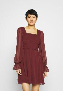 Trendyol - SIYAH - Cocktailkleid/festliches Kleid - burgundy
