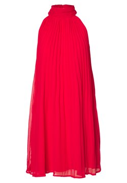 Nly by Nelly - FLOWY PLEATED DRESS - Cocktail dress / Party dress - red
