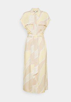 Monki - ARIANA DRESS - Vestido camisero - yellow