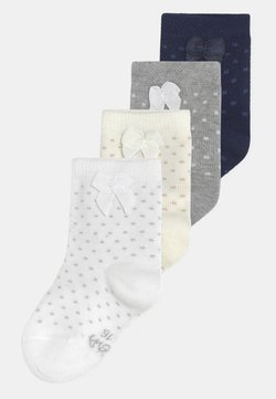 Ewers - SPOTTED BOWS 4 PACK UNISEX - Calcetines - multi-coloured