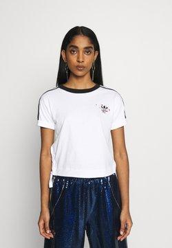 adidas Originals - TREFOIL SHORT SLEEVE TEE - T-Shirt print - white