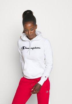 Champion - ESSENTIAL HOODED LEGACY - Huppari - white