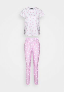 Loungeable - SPOT T-SHIRT WITH LEGGINGS - Pyjama - lilac