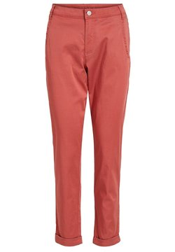 Vila - VICHINO RWRE 7/8 NEW PANT-NOOS - Chinot - dusty cedar