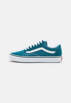 Vans - OLD SKOOL UNISEX - Sneakersy niskie - blue coral/true white