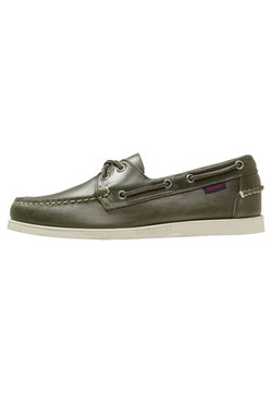 Sebago - DOCKSIDES PORTLAND  - Chaussures bateau - green military