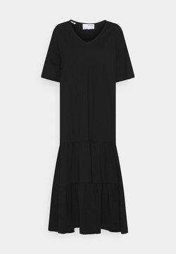 Selected Femme - SLFREED MIDI DRESS - Maxikleid - black