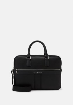 Tommy Hilfiger - DOWNTOWN SLIM COMPUTER BAG UNISEX - Aktentasche - black
