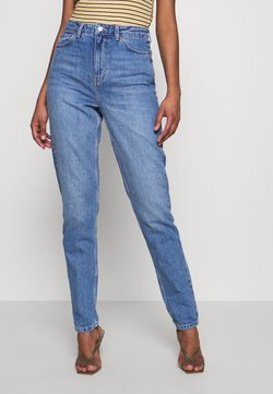 Topshop Tall - MOM CLEAN - Jeans Relaxed Fit - blue denim